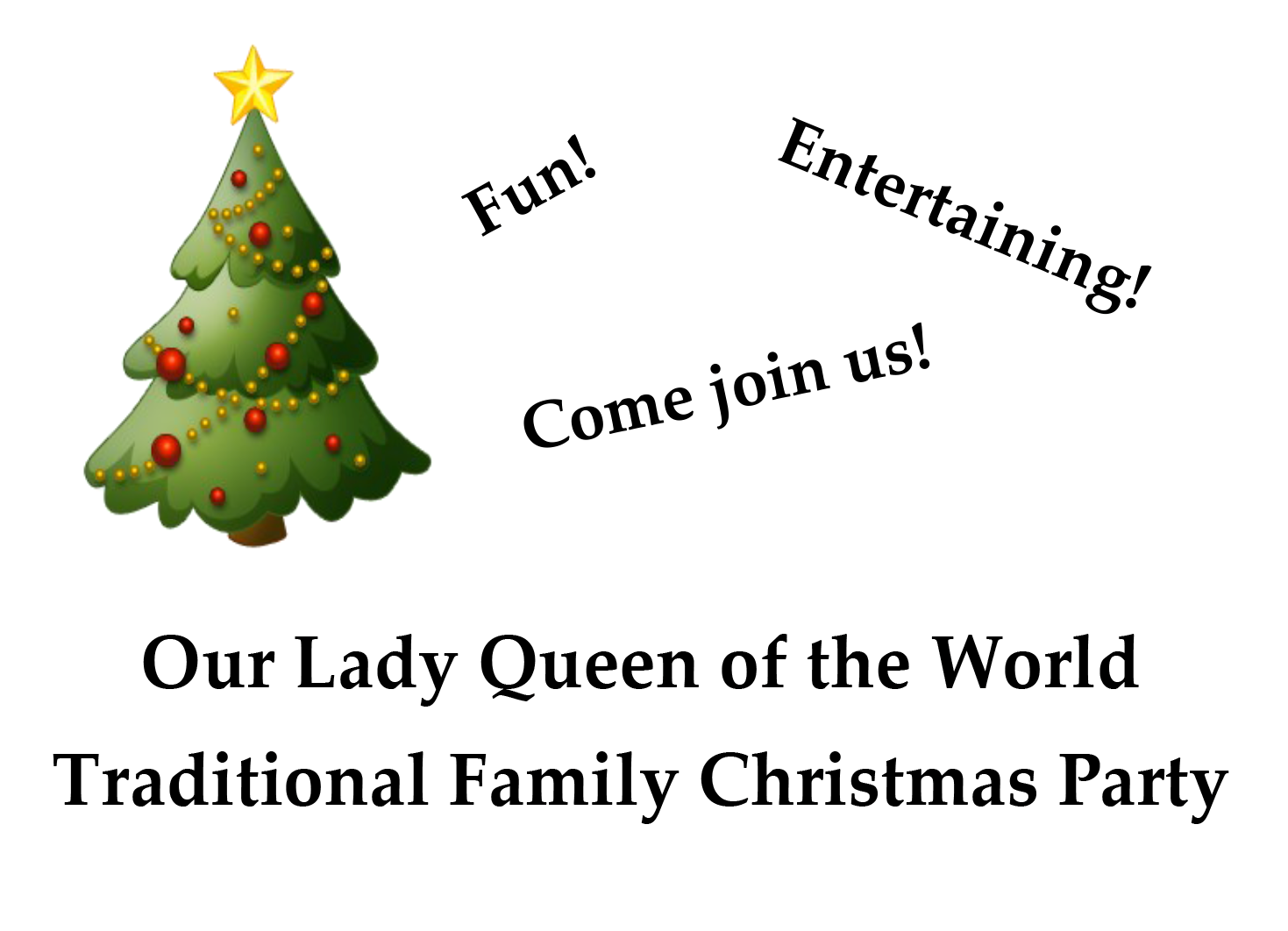 2014 OLQW Christmas party - Copy